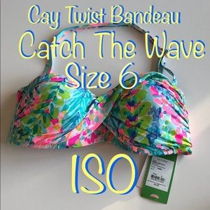 ISO Cay Twist Bandeau Catch The Wave Size 6
